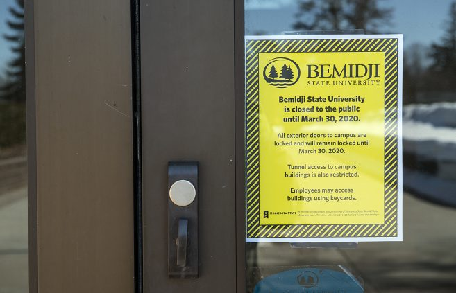 Bemidji State University closed its doors to the public in early April in response to the COVID-19 outbreak.