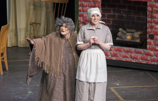 """The Department of Music's production of the opera """"Rodgers & Hammerstein's Cinderella"""" ran for three shows in FebruaryThe Department of Music's production of the opera """"Rodgers & Hammerstein's Cinderella"""" ran for three shows in February"""