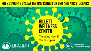 Minnesota Department of Health Offering Free COVID Screening for BSU, NTC Students