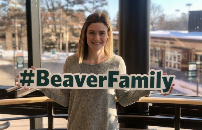 Human Resources began its #BeaverFamily project during the Spring 2020 semester to help welcome new employees to campus