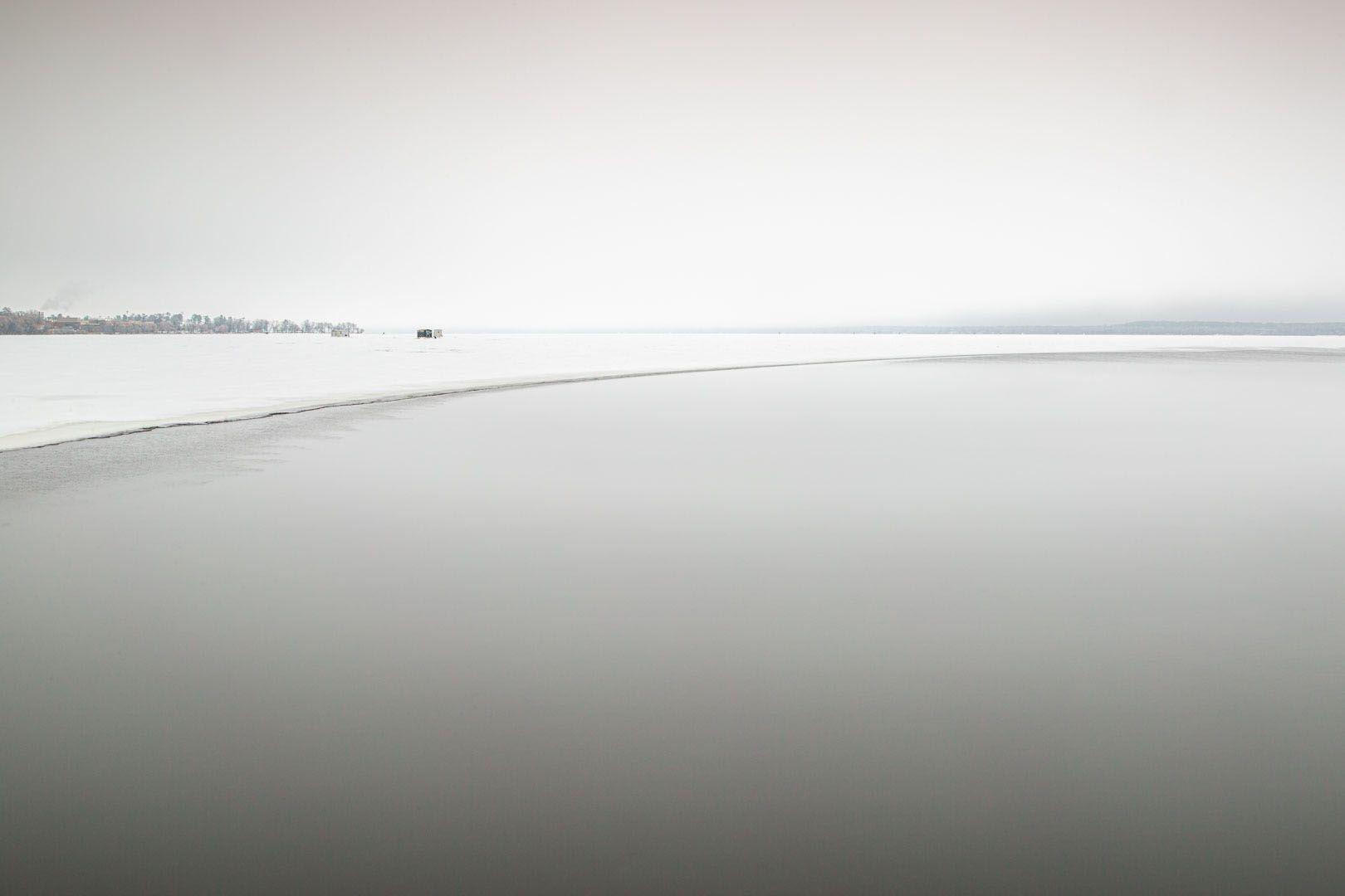 Bemidjigamaag: The River-that-runs-through-the-lake. Bemidji, Minn. 2018. © Monika Lawrence