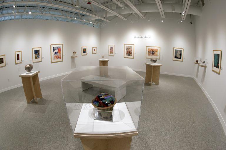 The Bemidji State Harlow-Kleven gallery in Bemidji's Watermark Art Center.