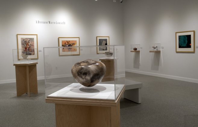The Bemidji State Harlow-Kleven gallery in Bemidji's Watermark Art Center.