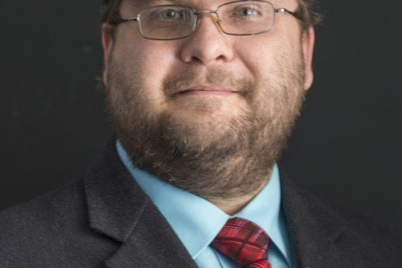 Dr. Shaun Duke, assistant professor of English