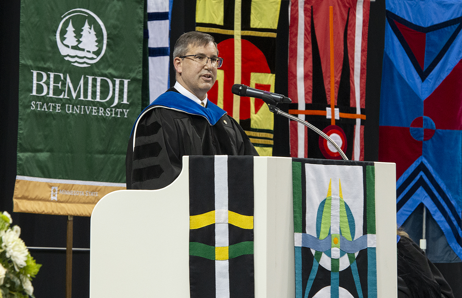 Provost and Vice President Dr. Allen Bedford