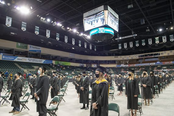 Celebrating More Than 1,000 Graduates During BSU's 102nd Commencement