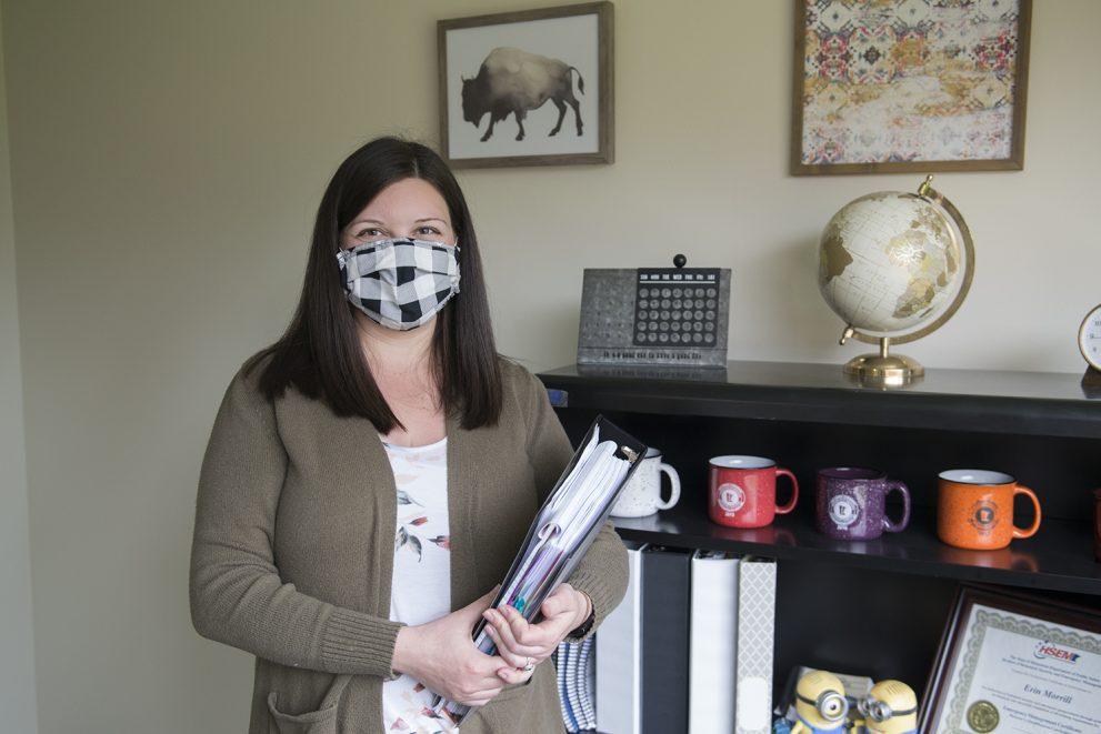 Erin Morrill, public safety coordinator