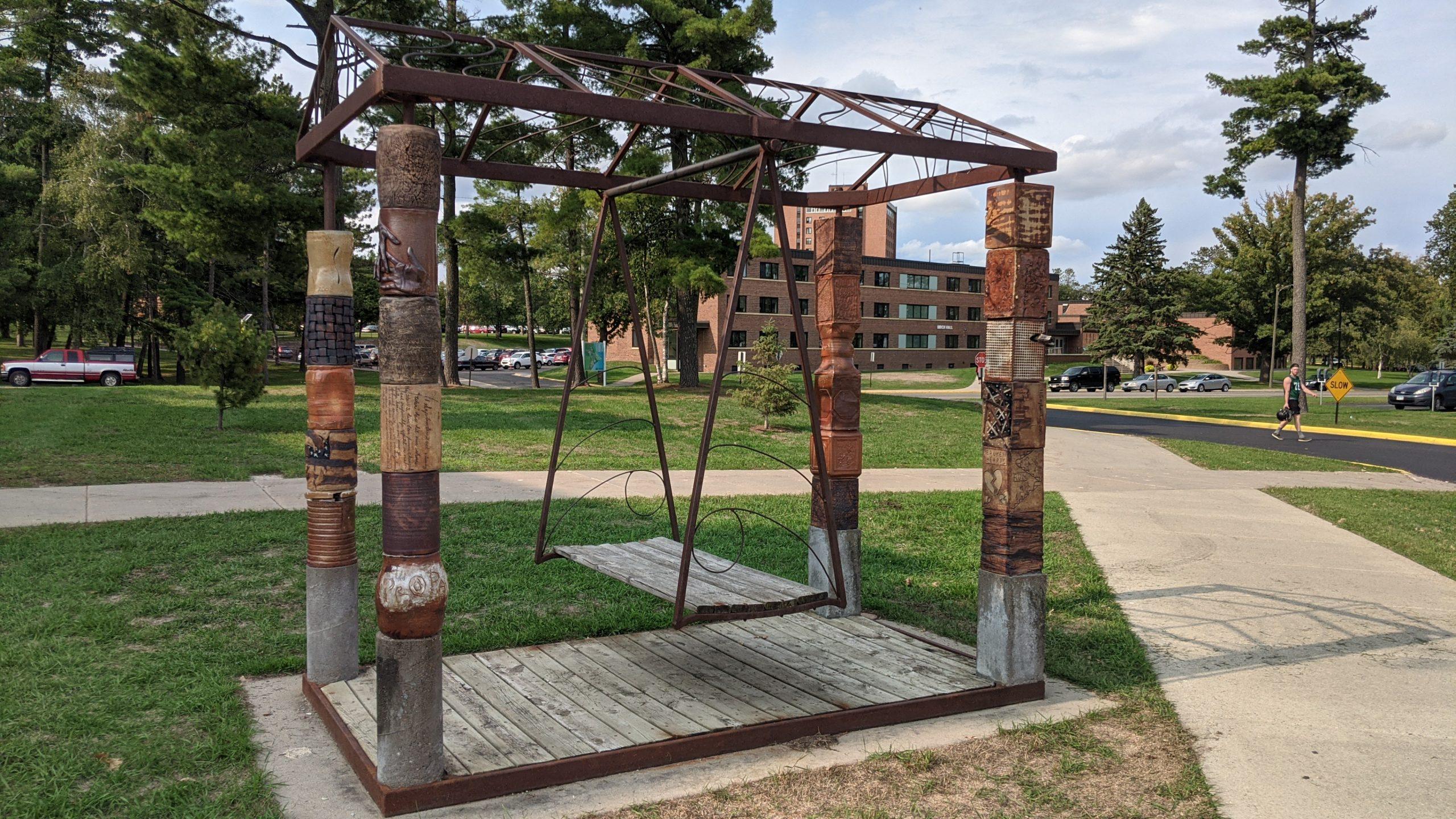 Sept. 11 outdoor sculpture swing