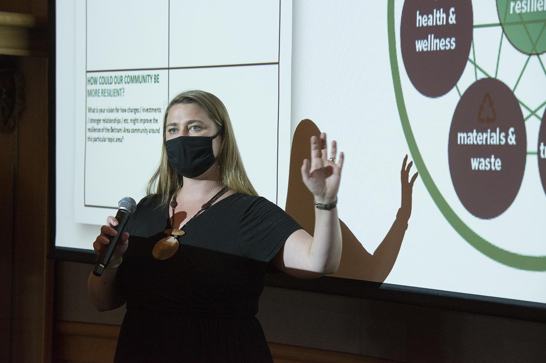 Anna Carlson, assistant professor of environmental studies