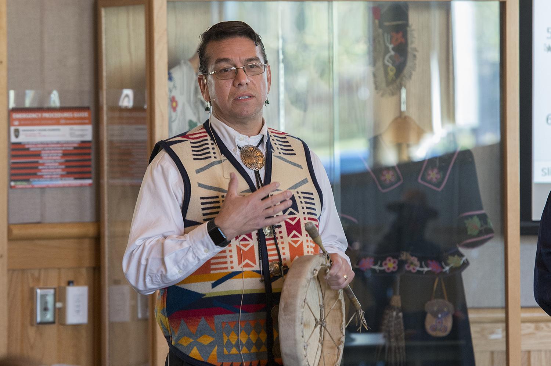 Dr. Mark Standing Eagle Baez (https://www.bemidjistate.edu/directory/facstaff/vp2955ia/), assistant professor of psychology