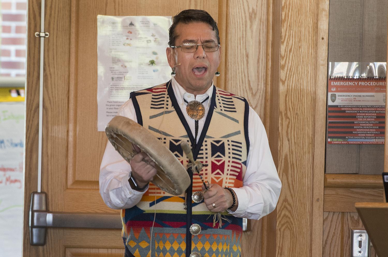 Dr. Mark Standing Eagle Baez, assistant professor of psychology