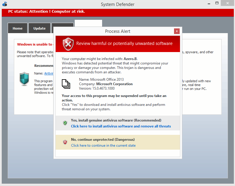 Avoiding viruses and malware infections    Information