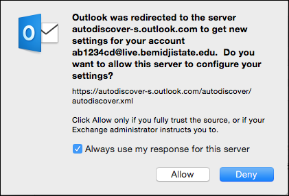Mac-Outlook2016-Accepting-the-creds-on-mac-3
