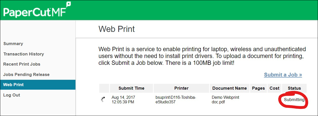 Printing From Personal Devices: How to Access and Use Web Print