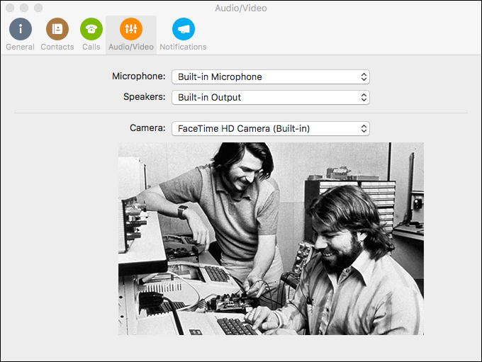 Skype for Business: Audio and Video Configuration
