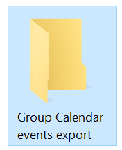 Exporting content from an Office 365 Group or Team