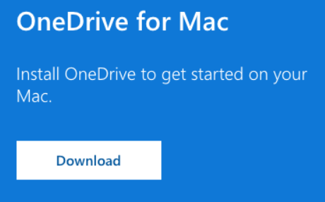 Install the latest version of OneDrive on your Mac or Windows