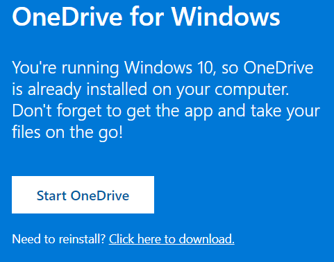 Install the latest version of OneDrive on your Mac or