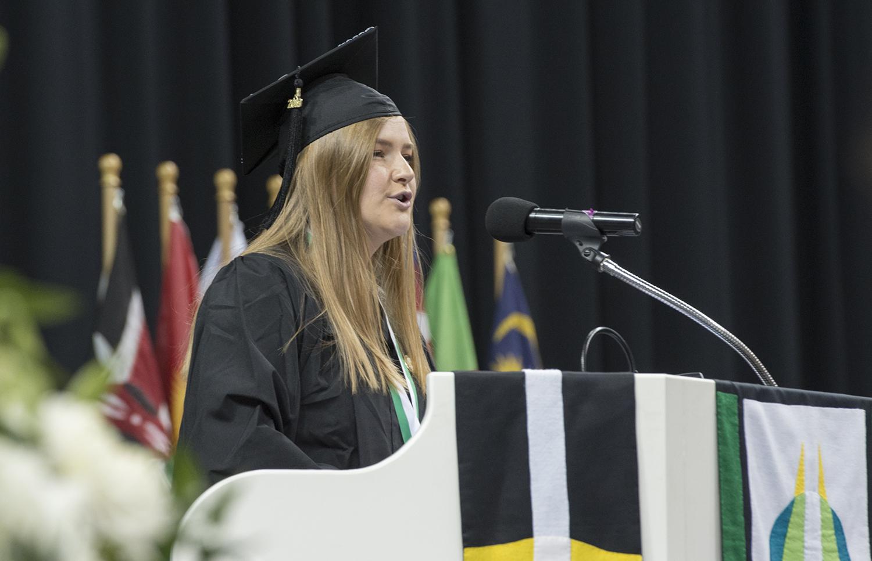 2019 Commencement Student Speaker