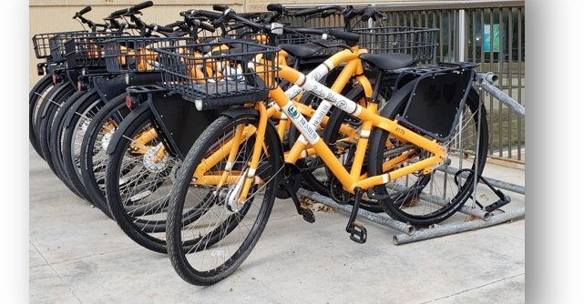 Bucky's Bikes are available for fall, spring, and summer rental by students, staff, and faculty.