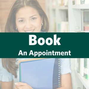 Image of Student with link to Book an appointment