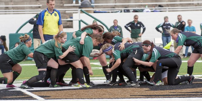 Rugby is a popular club sport for students at Bemidji State.