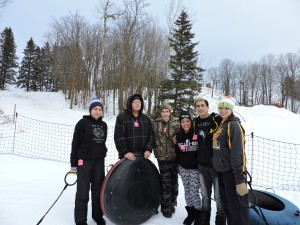 Tubing at Buena Vista for Back to Campus