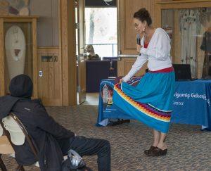 Nicky Michael, assistant professor of Indigenous Studies.