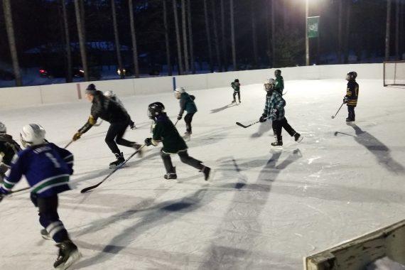Former Bemidji State Hockey Rink Lives On in Alum's Backyard