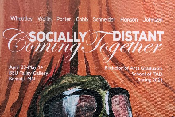 """Recent BSU Graduates Featured in """"Socially Distant, Coming Together"""" Art Exhibit"""