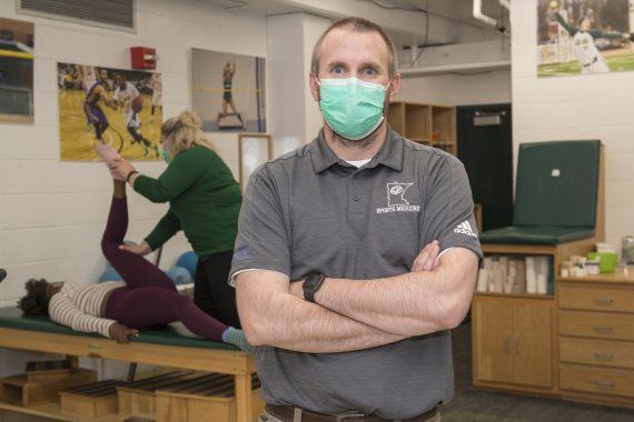 Vaccine Champion: BSU Head Athletic Trainer Eric Sand