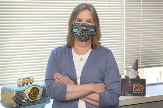 Vaccine Champion: Human Resources' Carol Hess