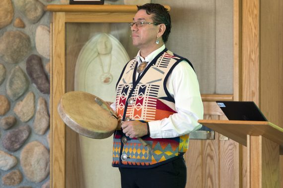 Dr. Mark Standing Eagle Baez Presents on Healing During Indigenous Peoples Day