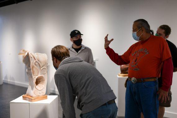 Bemidji State Welcomes Local Sculptor Gordon Van Wert for Gallery, Reception